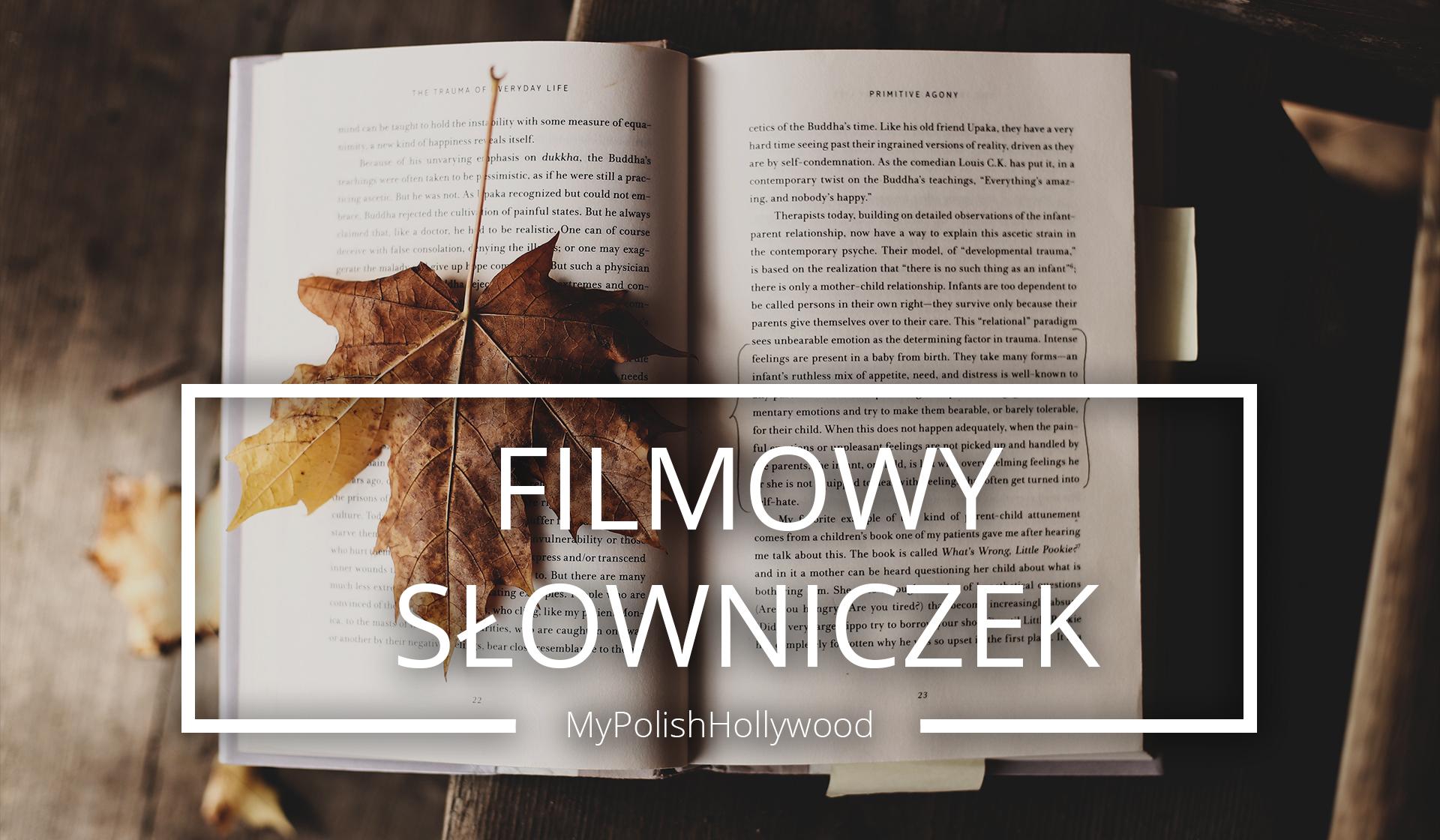Filmowy Słowniczek – Poznaj język filmu!